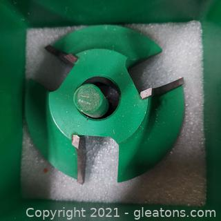 """Woodworking Grizzly Industrial Shaper Cutter # 2062 ¾"""" Bore"""