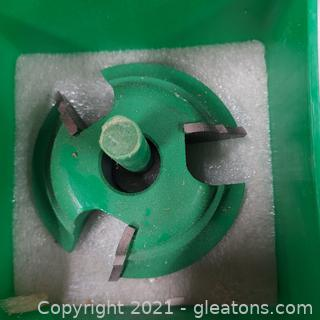 """Woodworking Grizzly C2091 Shaper Cutter Bit ¾"""" Bore"""