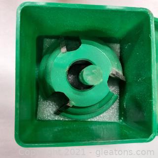 """Woodworking Grizzly Industrial Shaper Cutter C2098 Bit ¾"""" Bore"""