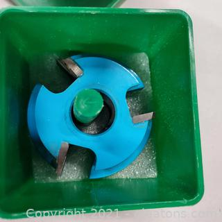 """Woodworking Grizzly Industrial C 2115 Shaper Cutter Bore ¾"""""""