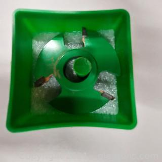 """Woodworking Grizzly Industrial C2030 Shaper Cutter- ¼"""" Rabbetting ¾"""" Bore"""
