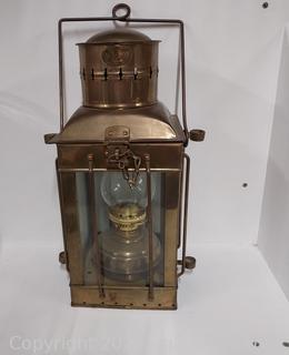 Neptune Brass and Copper Ship's Lantern