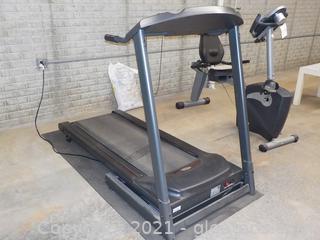 "Horizon Fitness Treadmill with 54"" Running Surface"