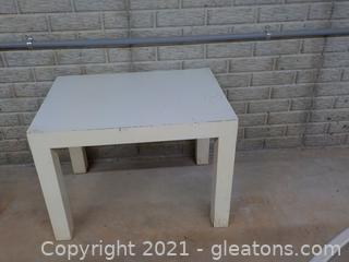 Very Sturdy Wooden Utility Table (Short) (Table Only)