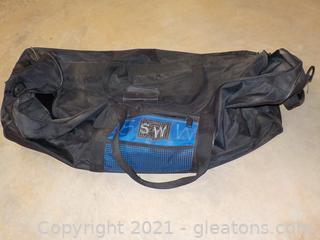 Very Large Rolling Duffel Bag