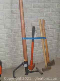 Lot of 4 Manual Outdoor Tools (A)