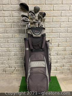 Datrek Golf bag with Complete Golf Set (Right Hand)