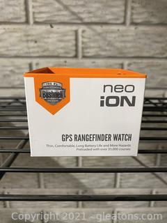 Neo Ion GPS Rangefinder Watch