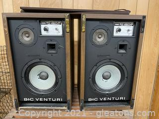 Bic Ventori Speakers (Lot of 2)