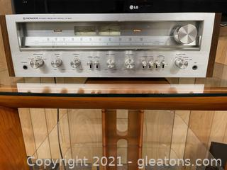 Pioneer Stereo Receiver Model SX-650