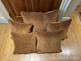 Elegant Velvet Chenille Pillows
