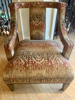 Charming Wesley Hall Modern-Contemporary Arm Chair