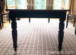 Nicholas and Stone Solid Wood Dining Table
