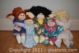 Vintage Cabbage Patch Kids From the 80's