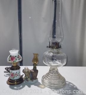 Unique Lamp Lot