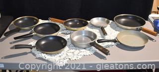 Vintage Skillets and Frying Pans