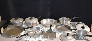 Vintage Pots - Pans and Lids