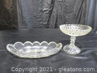 Mid-Century Serving Dishes