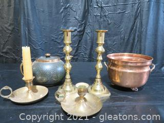 Nice Brass Collection