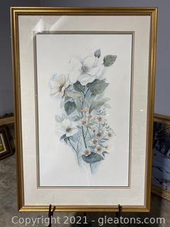 Mary Bertrand Watercolor Print