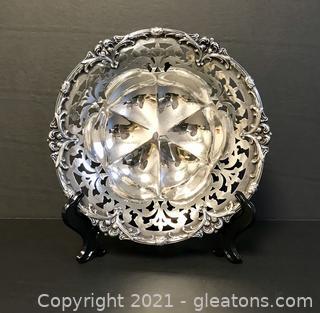 Unger Bros. Art Nouveau Sterling Silver Bowl