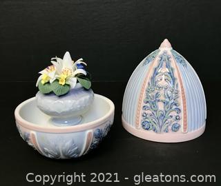 """LLADRÓ Porcelain Figurine """"Spring Egg"""" (6292) with Box"""