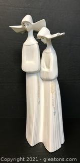 "LLADRÓ Porcelain Figurine ""Nuns"" (4611)"