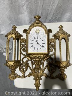 Vintage Bur Wood Products Wall Clock