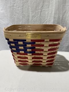 1997 Longaberger Village 20th Century Basket