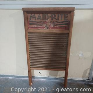 Lot of 3 Aged Classic Wash Boards