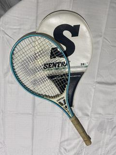 Vintage Tennis Racket and Cover