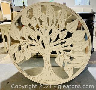 Terrific Tree of Life Circular Wall Mirror