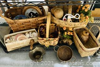 Baskets and Such Collection