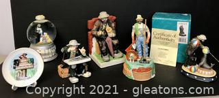 Emmett Kelly Jr. Figurine Fun Lot – 6pcs