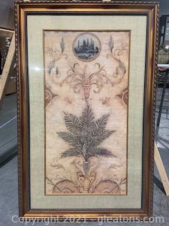 "Liz Jardine ""Palm"" Framed Art Print"