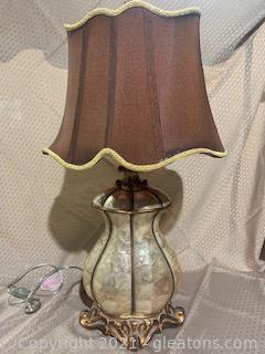 Gourd Capiz Shell Lamp