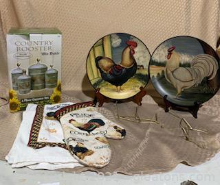 Rooster Decor Collection