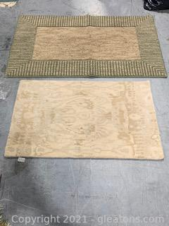 Kaleen Mercery Scatter Rug and One Other Rug