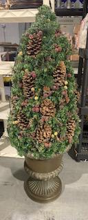 Lighted Christmas/Holiday Planter