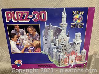 1000 Piece 3D Bavarian Castle Puzzle