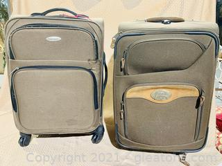 Cabela's and Samsonite Travel Luggage