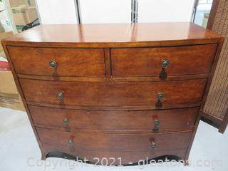 Solid Wood Dresser - 5 Drawer