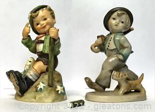 Hummels 5 and 315 Figurines (Lot of 2)