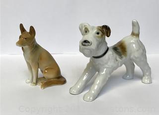 Goebel Dog Figurines (Lot of 2)