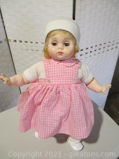 Madame Alexander Baby Sister Doll