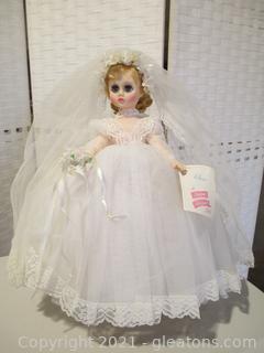 """Madame Alexander """"Elise"""" Doll"""