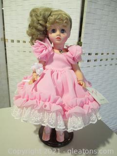 """Madame Alexander """"Sweet Sixteen"""" Doll"""