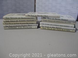 11 Vintage Books by Beatrix Potter