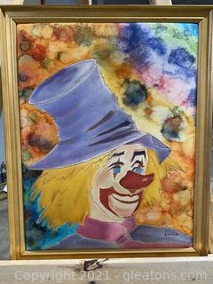 Happy Clown Painting