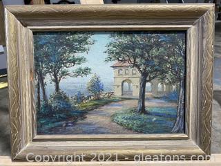 Peaceful Tuscan Landscape